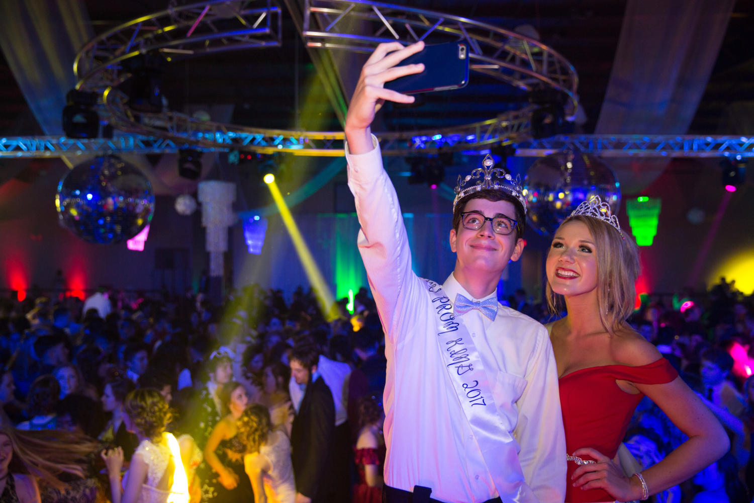 Davies, Jackson crowned first HBHS prom royalty