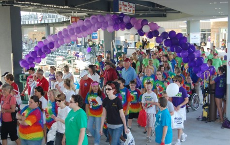 EAST students collaborate with Alzheimer's Memory Walk