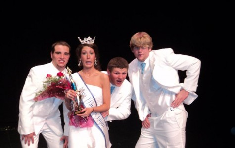 Miss HBHS faces anxiety on stage