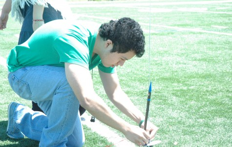 Physics classes launch rockets