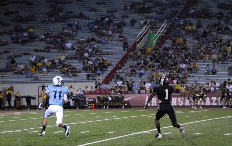 Senior wideout paces offense to rout