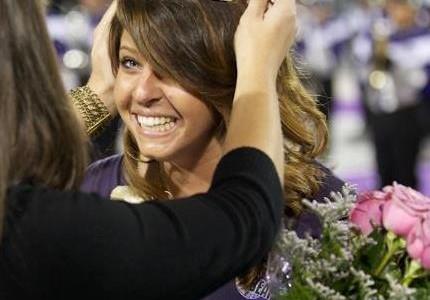 Former grad wins UCA homecoming queen