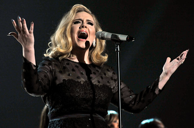 Adele dominates Grammy night