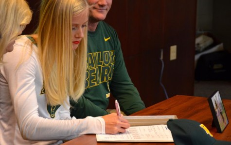 Athletes sign to play at college level