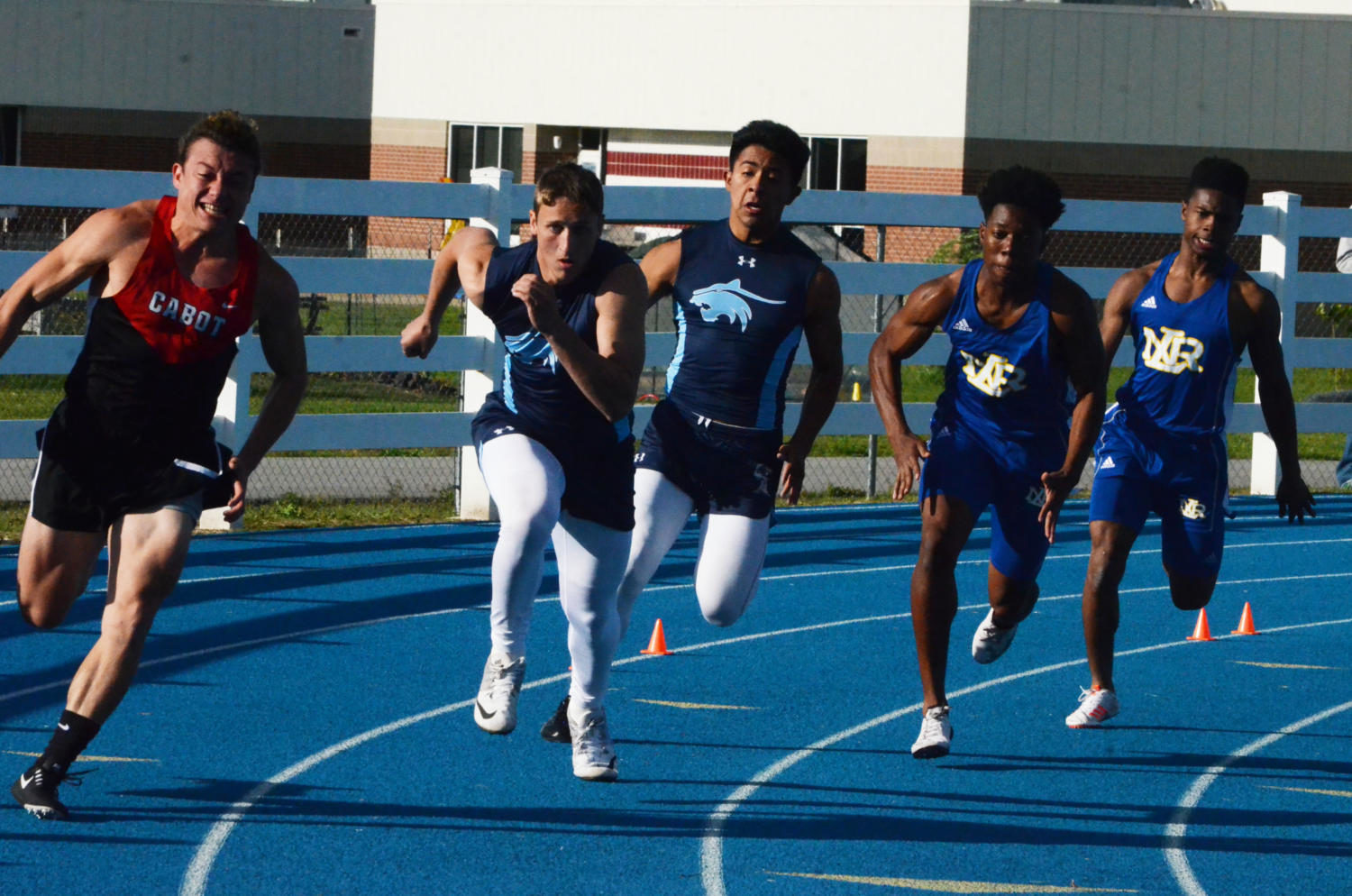 Wind, injuries factor into track finale