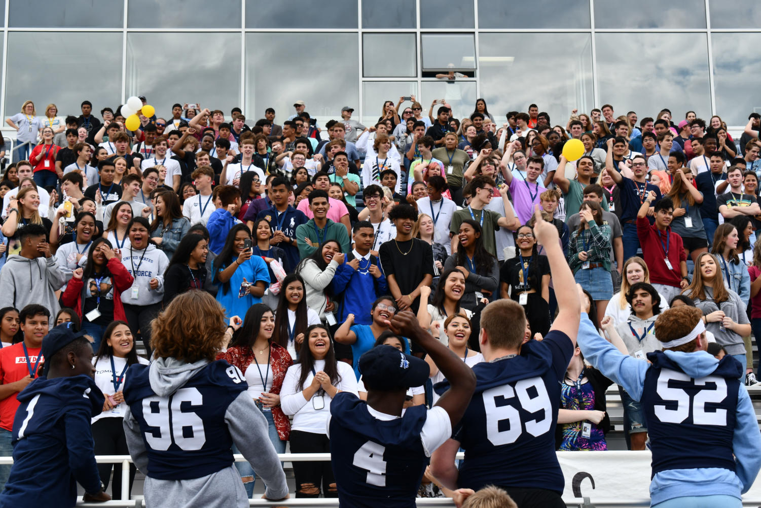 Upgraded pep rally leads to high expectations