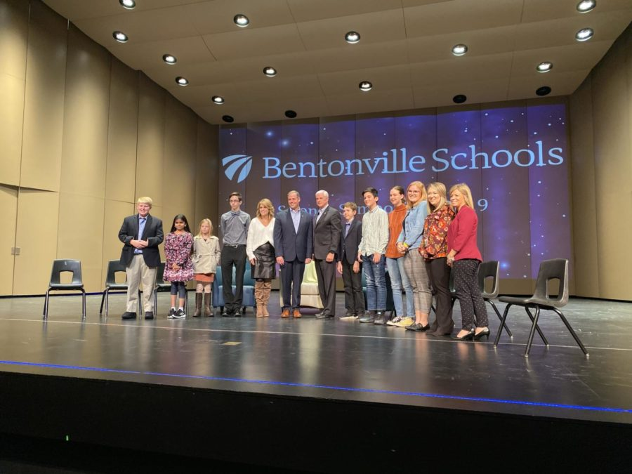 Womack welcomes NASA Administrator Jim Bridenstine to Bentonville High School