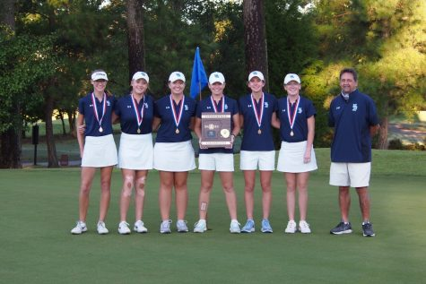 Girls golf bring first state champion home